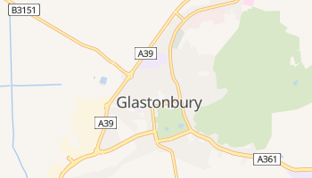 Glastonbury online map