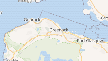 Greenock online map
