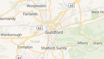 Guildford online map