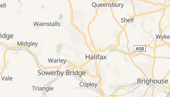 Halifax online map