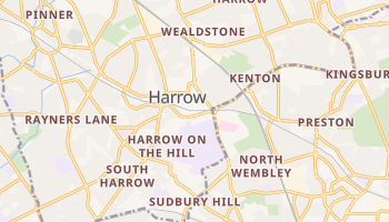 Harrow online map