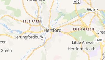 Hertford online map
