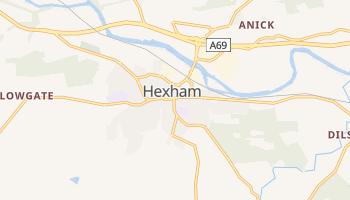 Hexham online map
