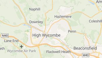 High Wycombe online map