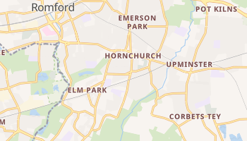 Hornchurch online map