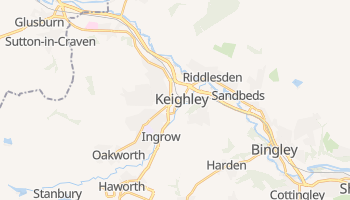 Keighley online map