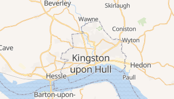 Kingston Upon Hull online map
