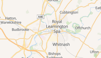 Leamington online map