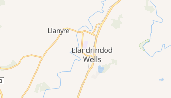 Llandrindod Well online map