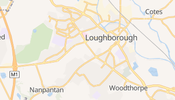 Loughborough online map