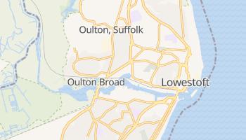 Lowestoft online map