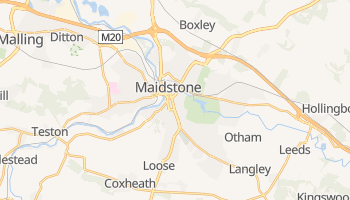 Maidstone online map