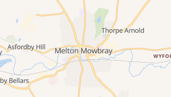 Melton Mowbray online map