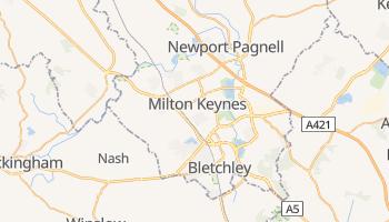 Milton Keynes online map