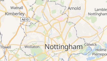 Nottingham online map
