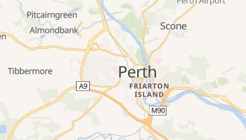 Perth online map