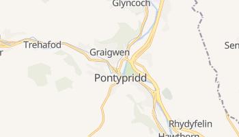 Pontypridd online map