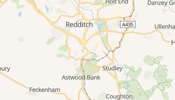 Redditch online map