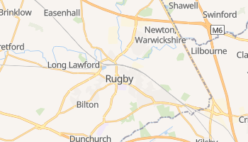 Rugby online map