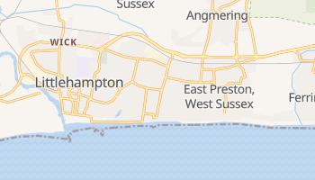 Rustington online map