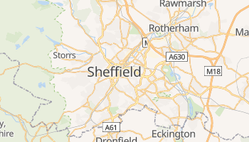 Sheffield online map