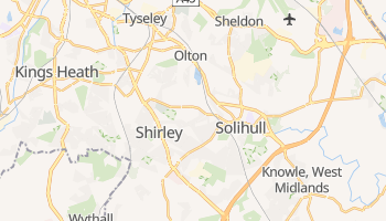 Solihull online map