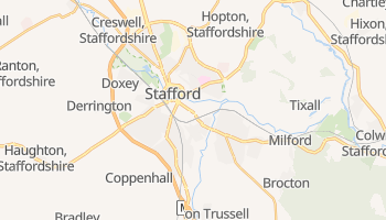Stafford online map