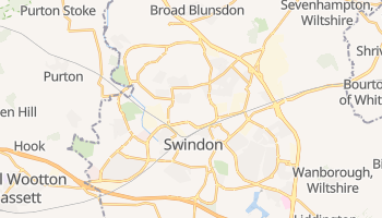 Swindon online map