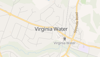 Virginia Water online map