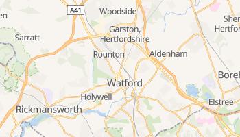 Watford online map