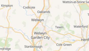Welwyn Garden City online map