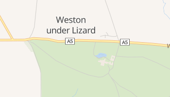 Weston Under Lizard online map