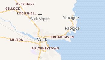 Wick online map