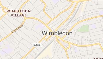 Wimbledon online map