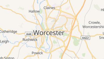 Worcester online map