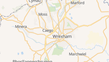 Wrexham online map