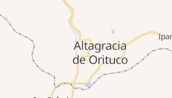 Altagracia De Orituco online map