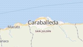 Caraballeda online map