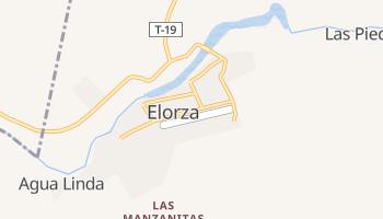 Elorza online map