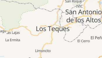 Los Teques online map