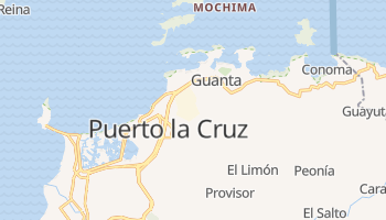 Puerto La Cruz online map