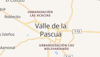 Valle De La Pascua online map