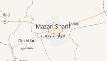 Mapa online de Mazār-e Šarīf