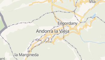 Mapa online de Andorra la Vella (Andorra la Vieja)