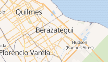 Mapa online de Berazategui