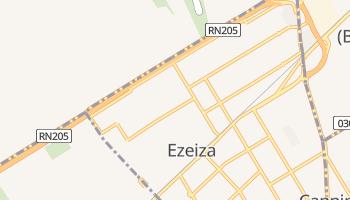 Mapa online de Ezeiza