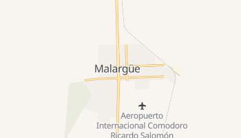 Mapa online de Malargüe