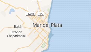 Mapa online de Mar del Plata
