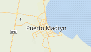 Mapa online de Puerto Madryn