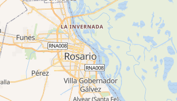 Mapa online de Rosario